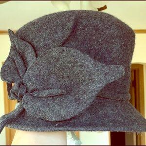 Memar Grey Wool Bucket Hat